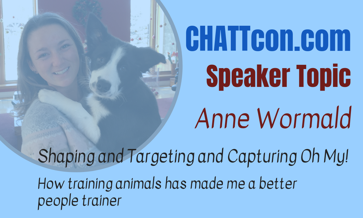 How Training Animals Made Me a Better Human Trainer and Led Me to Do Epic Sh*t