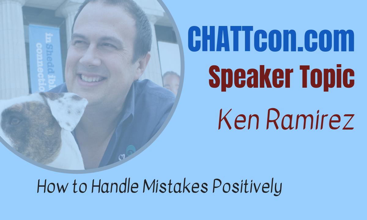 Ken Ramirez on the Best Way to Correct Errors